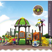 Educational equipment outdoor kids playground for creative recreation